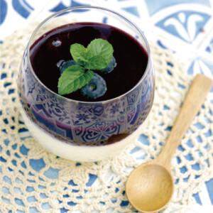 食べるブルーベリージュース